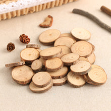 Wood Log Slices Discs for DIY Crafts - 50Pcs/Set 2-4CM - stilyo