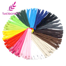 Colorful Nylon Coil Zippers - 20Cm Long - stilyo