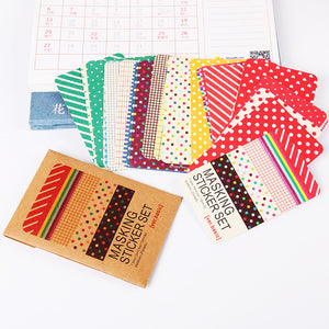 27 PCS Masking Tape Stickers Pack - stilyo