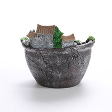 Planter Flower Plant Pots Fairy Garden Pot with Sweet House - stilyo