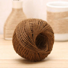 Jute Roll Twine DIY Hemp Rope - 55yards/160feet - stilyo