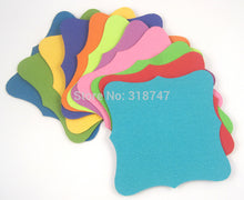 7.5cm 12pcs mixed colors bookmark label card - stilyo