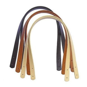 60cm PU Leather Bag Strap Shoulder Handle - 2 Pieces