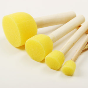 4Pcs/Set Sponge Paint Brush - stilyo