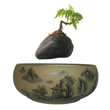 Japanese Village Base Levitating Air-Floating Bonsai Pot - stilyo