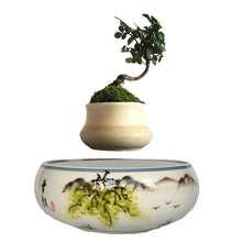 Japanese Landscape Base Levitating Air-Floating Bonsai Pot