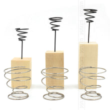 Wooden Metal Air Plant Holder - stilyo