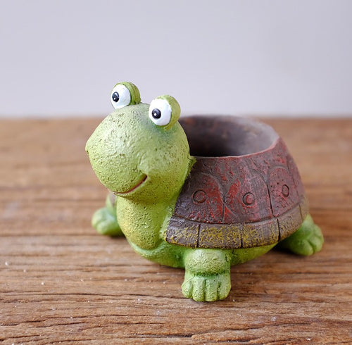 Little Turtle Plants Pot