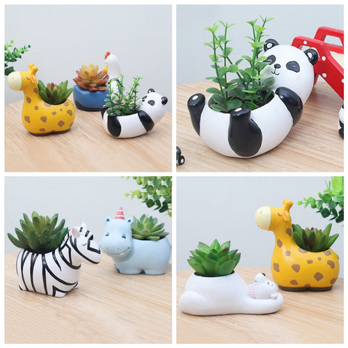 Cute Animal Flower Planters - stilyo