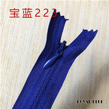 20Cm Close-End Resin Zippers for Crafts & DIY - stilyo