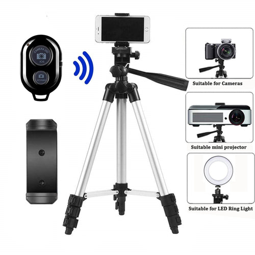 Lightweight Travel Tripod - Phone and Camera