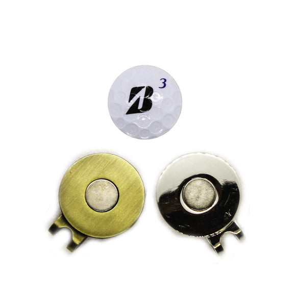Ball Marker - Bridgestone Hat Clip