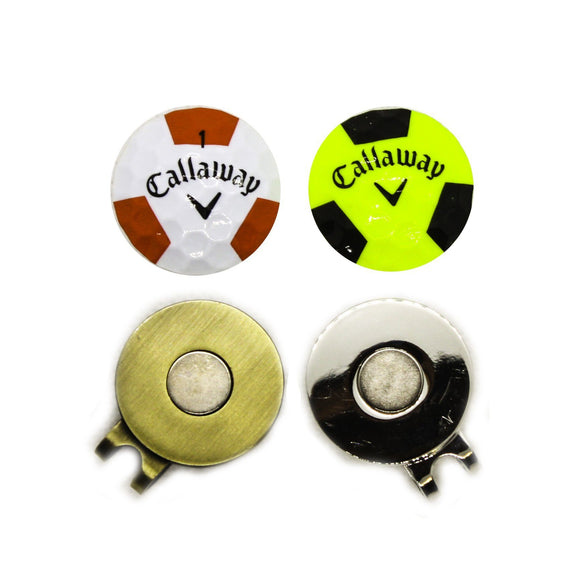 Ball Marker - Callaway Chrome Soft Truvis Hat Clip (CS/CSX)