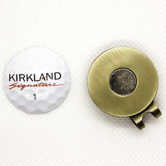 Ball Marker - Kirkland Signature Tour Performance Hat Clip