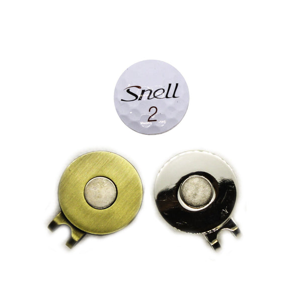 Ball Marker - Snell Hat Clip