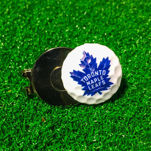 Ball Marker - Toronto Maple Leafs Hat Clip