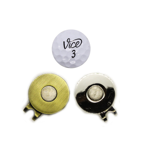Ball Marker - Vice Hat Clip