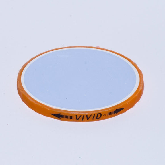 Ball Marker - Volvik Vivid: Orange (blue)