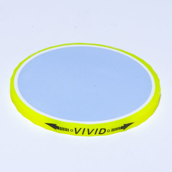 Ball Marker - Volvik Vivid: Yellow (blue)