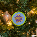 LIMITED TIME: Custom Engraved Christmas Ornament