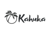 Kahuka full logo with Palm Tree icon