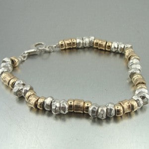 Hadar jewelry Handmade 14k Gold Filled Sterling Silver Bracelet
