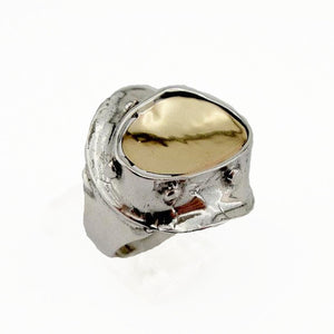 Silver & gold Ring (162g)
