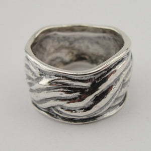 Unique Handcrafted 925 Sterling Silver Ring