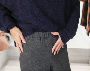 PANTALÓN Pomandere AW20 mini checks