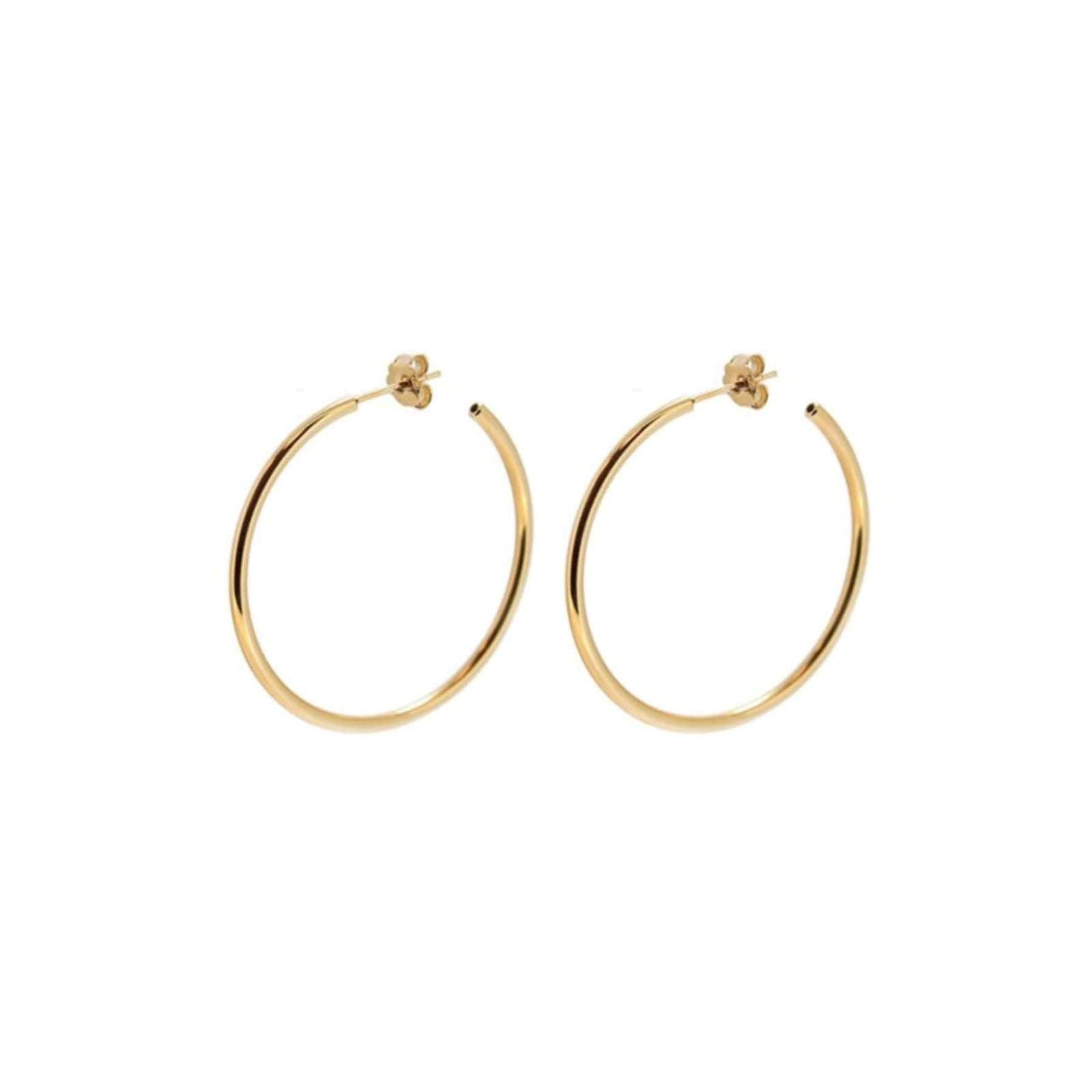 PENDIENTES Heylove basic hoops 20 mm oro