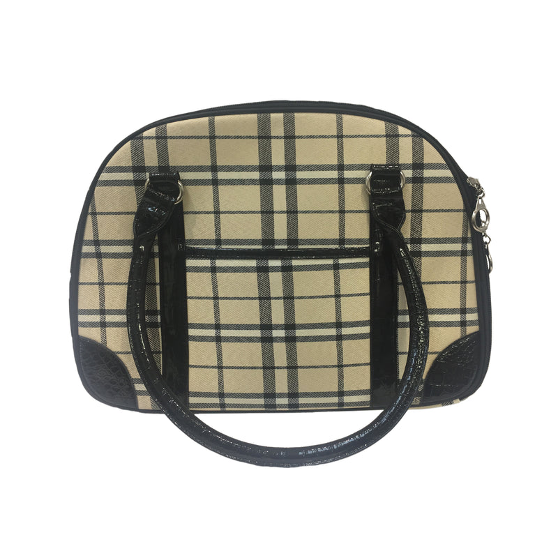 Sac imitation burberry