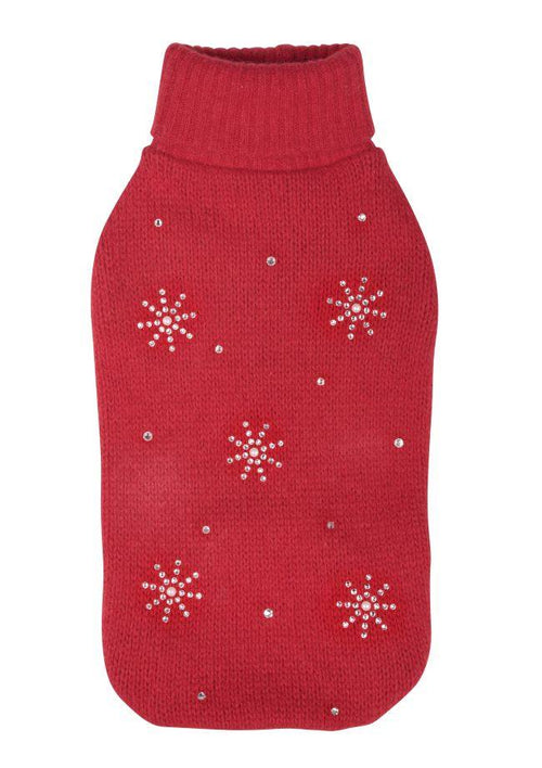 Tricot rouge Charlotte's Dress ''Red Christmas''