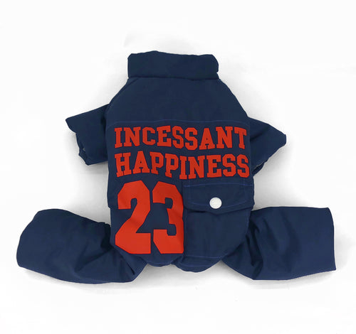 Manteau ''Incessant Happiness 23'' Bleu