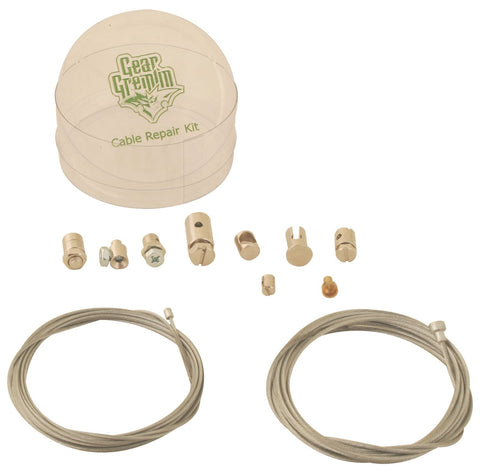 Gear Gremlin GG150 Silver Universal Cable Repair Kit - Fits Most Vehicles