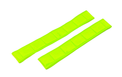 Gear Gremlin GG911 Neon Yellow Reflective Arm and Ankle Band pack of 2