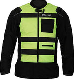 WEISE Flare Neon Yellow and Orange Reflective High Visibility Reversible Vest