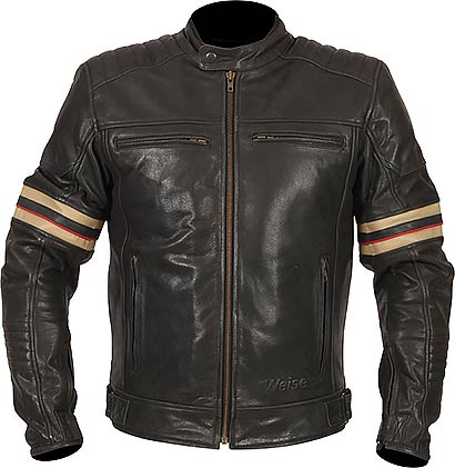 WEISE Detroit Leather Jacket - CE level 2 PPE