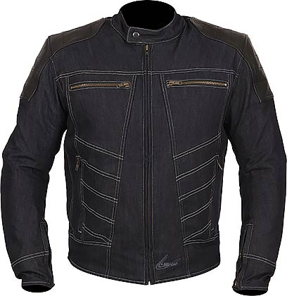 WEISE Fury Denim and Leather Jacket