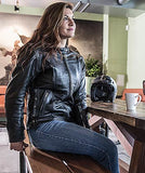 WEISE Sophia Leather Jacket
