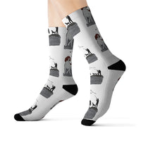 German Shorthaired Pointer Sublimation Socks