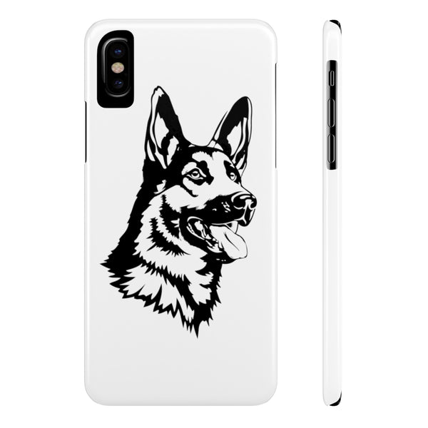 German Shepherd Case Mate Slim Phone Cases