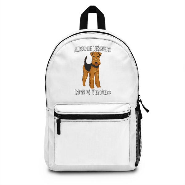 Airedale Terrier Backpack (Made in USA)