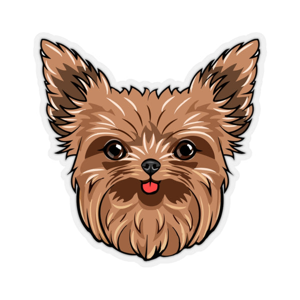 Yorkshire Terrier Kiss-Cut Stickers
