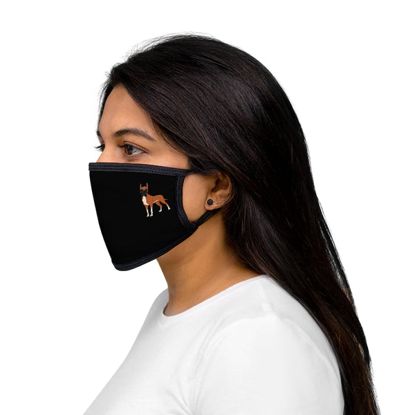Great Dane Mixed-Fabric Face Mask