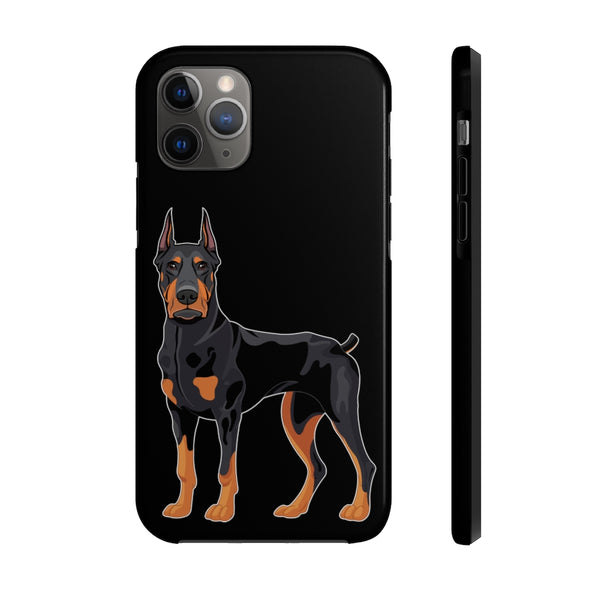 Doberman Pinscher Case Mate Tough Phone Cases