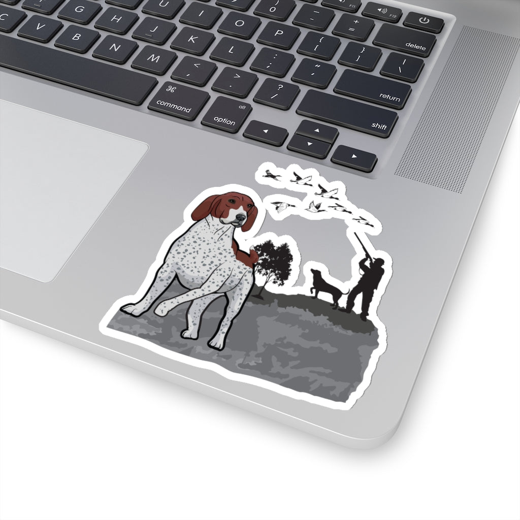 German Shorthaired Pointer Kiss-Cut Stickers