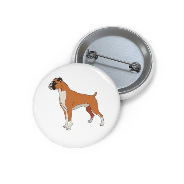 Boxer Custom Pin Buttons