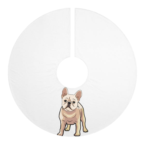 French Bulldog Personalized Christmas Tree Skirts