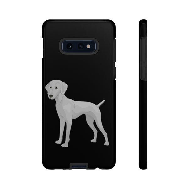 Weimaraner Tough Cell Phone Cases