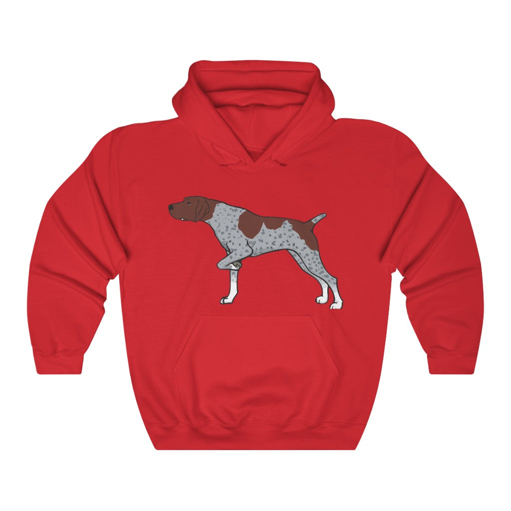 German Shorthaired Pointer Unisex Heavy Blend Hooded Sweatshirt